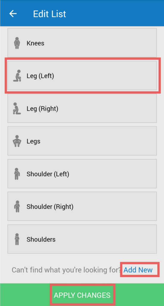 manage my pain app tutorial screenshot 10