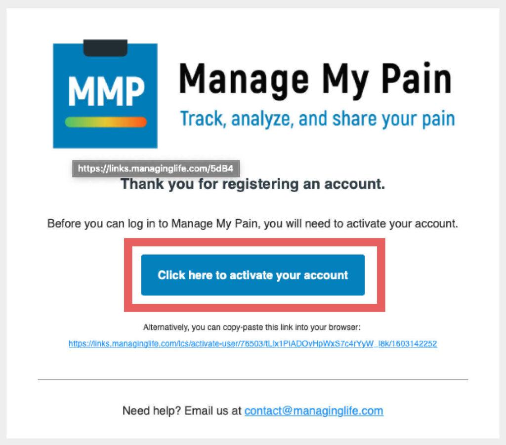 manage my pain app tutorial screenshot 11