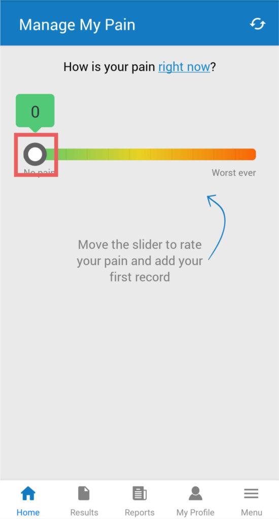 manage my pain app tutorial screenshot 6